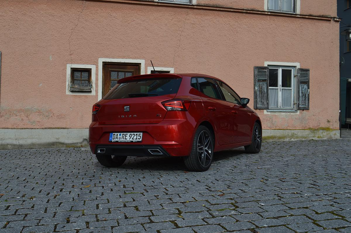 SEAT Ibiza FR 1.0 TSI hinten