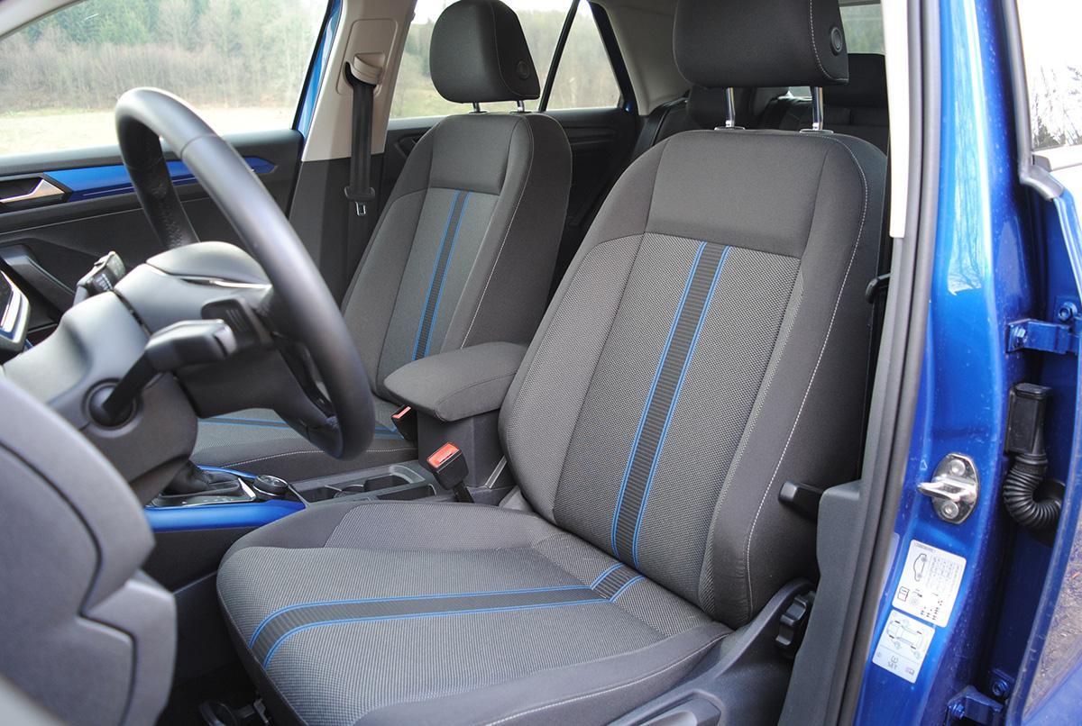 VW T-Roc Fahrersitz