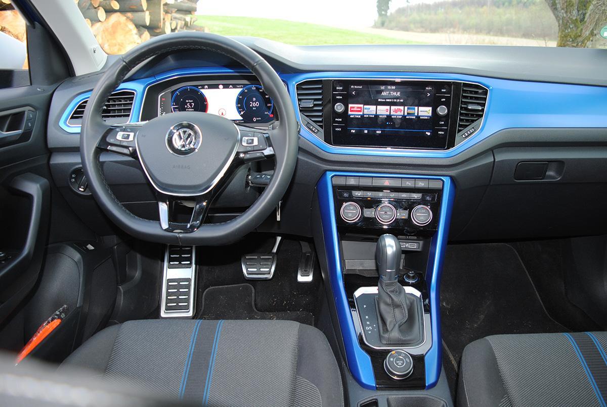 VW T-Roc 1.5 TSI Interieur