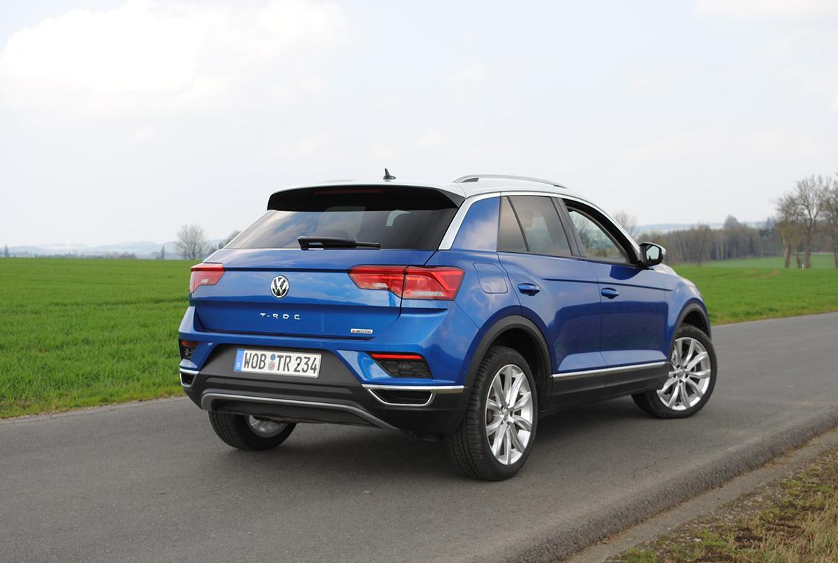 VW T-Roc hinten