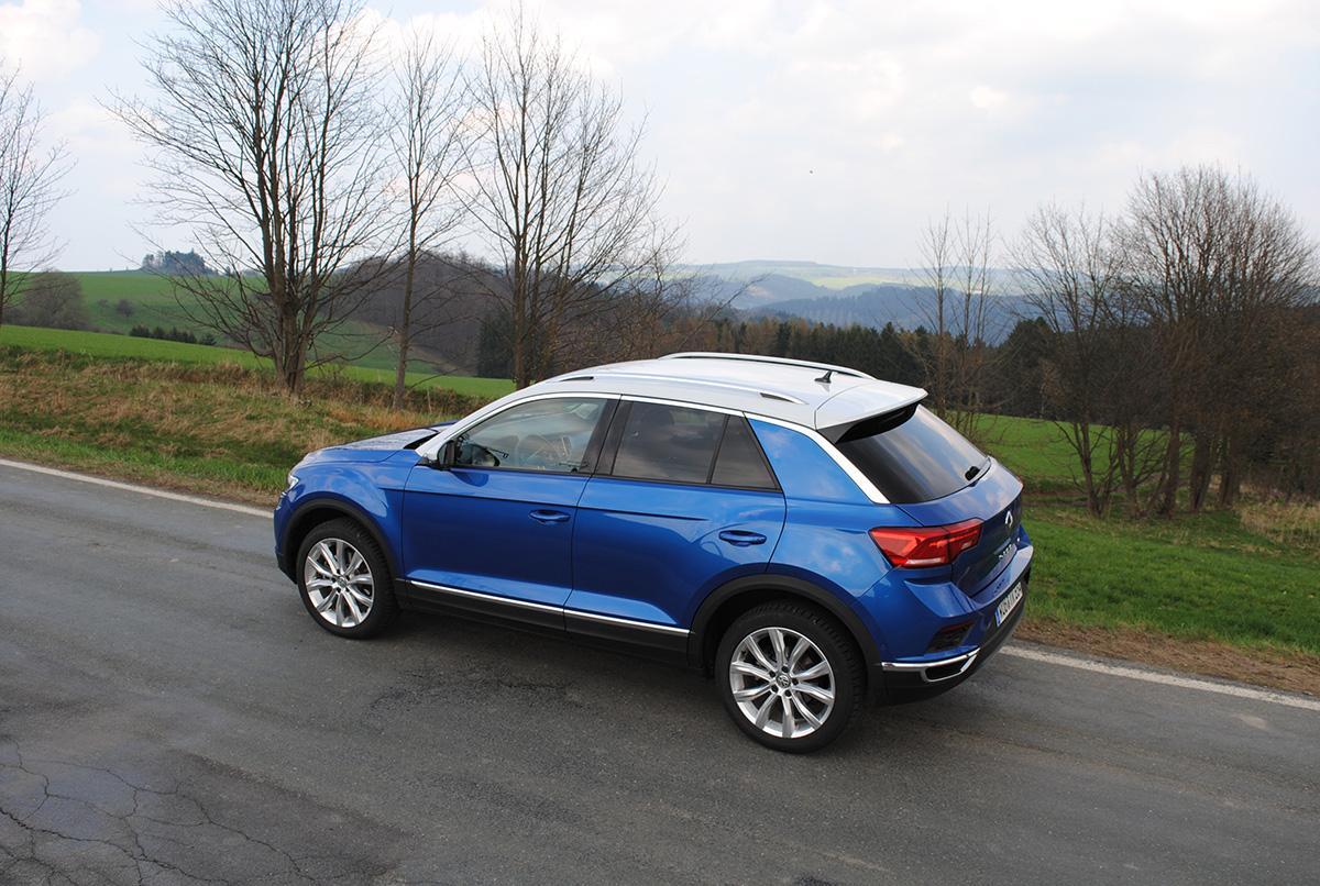 VW T-Roc 1.5 TSI in Blau