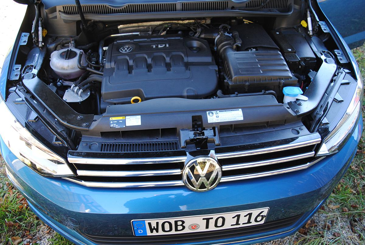 VW Touran 2.0 TDI Motor