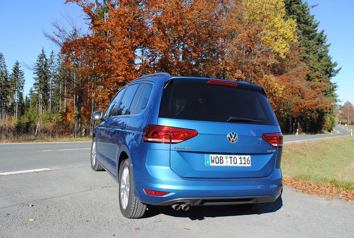 VW Touran  hinten
