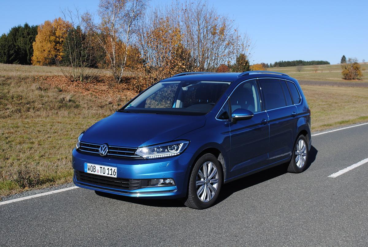 VW Touran 2.0 TDI Exterieur