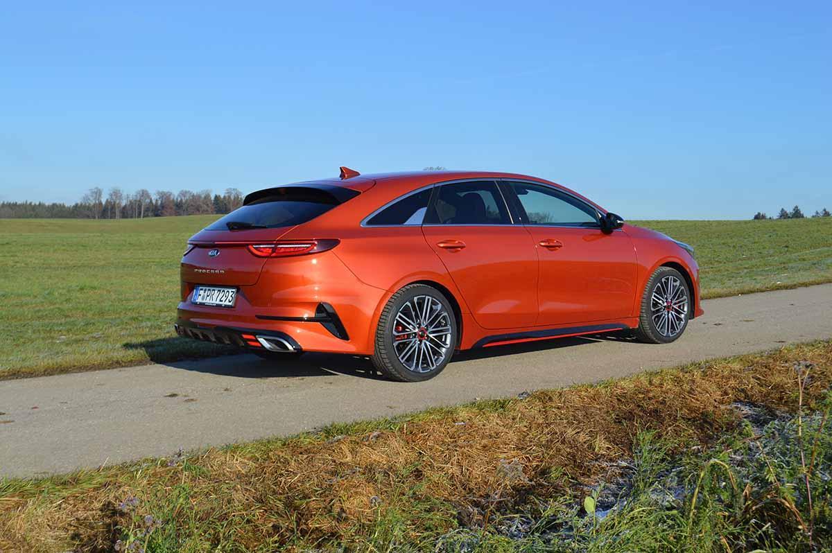 KIA Proceed GT 1,6-Liter-Turbobenziner