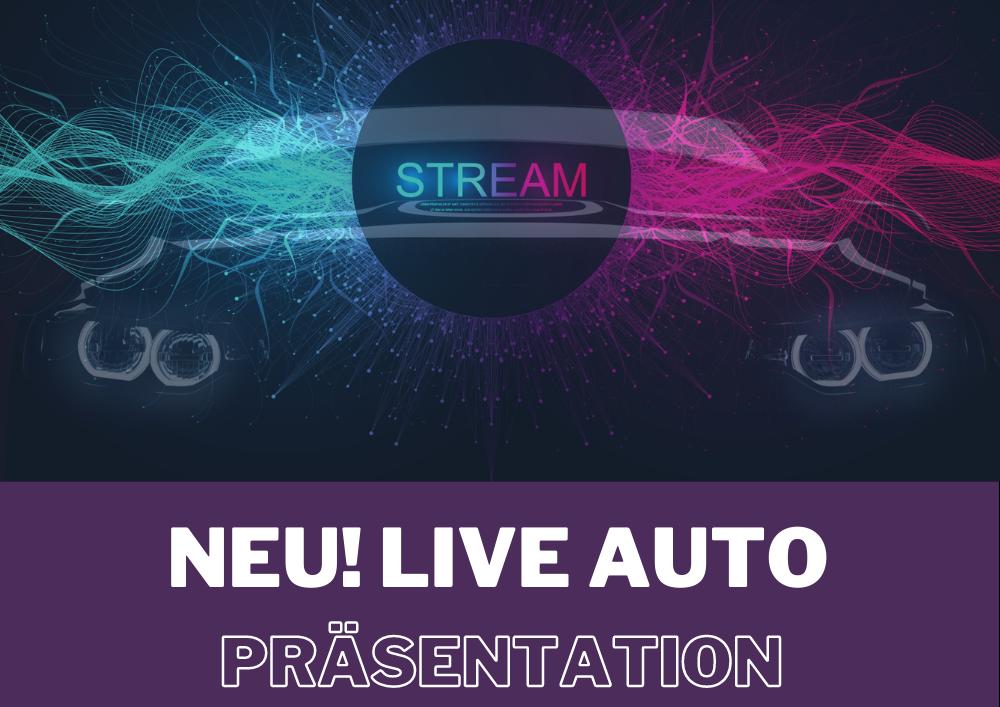 Terminbuchung für Live Auto Präsentation