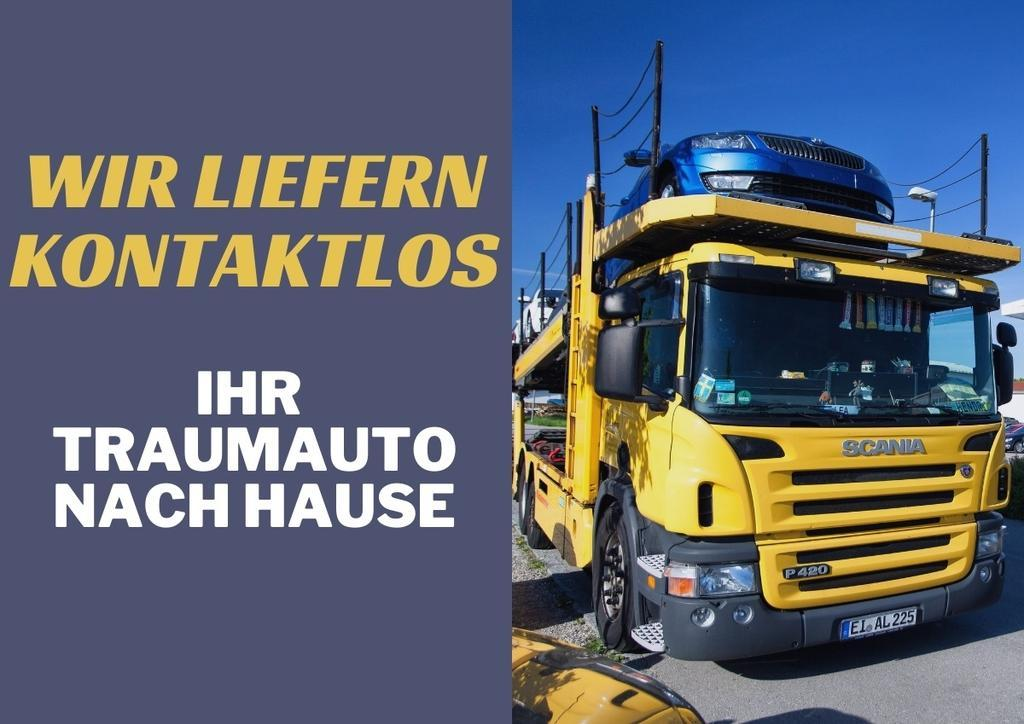 Kontaktlose Fahrzeuganlieferung per Spedition