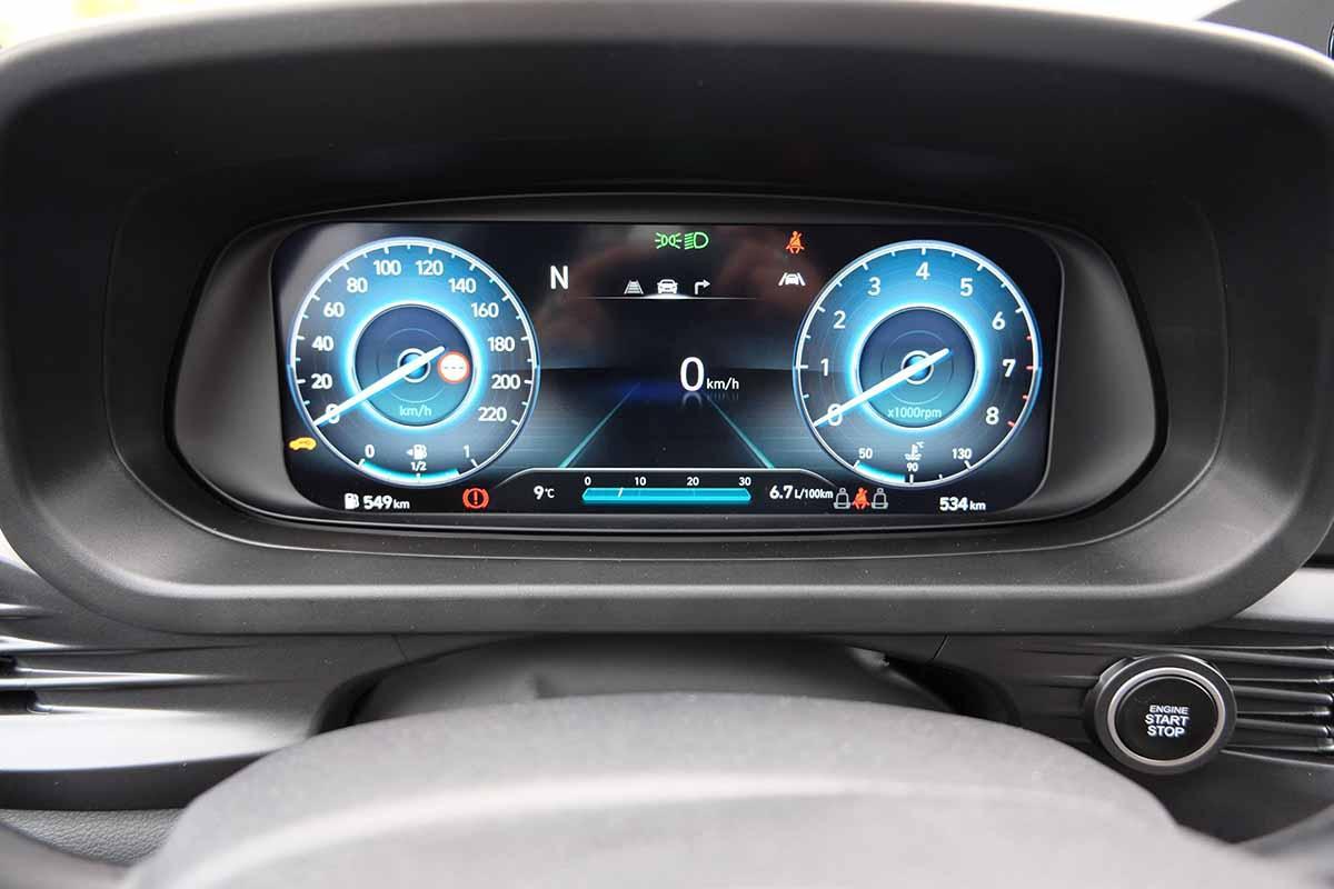 hyundai i20 digitales cockpit