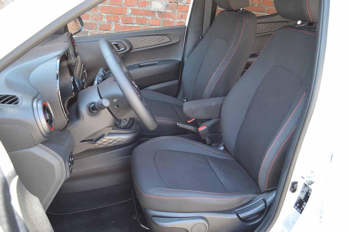 Hyundai i10 Fahrersitz