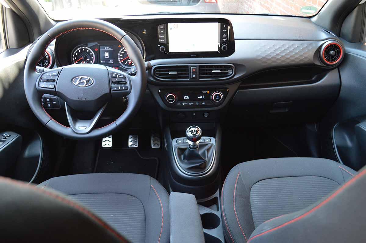 Hyundai i10 Interieur