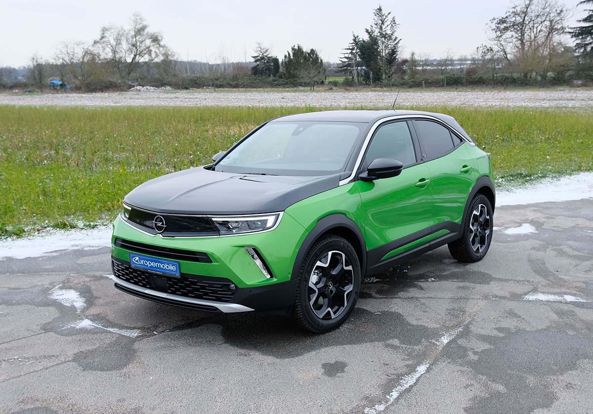 Opel Mokka-e vorne