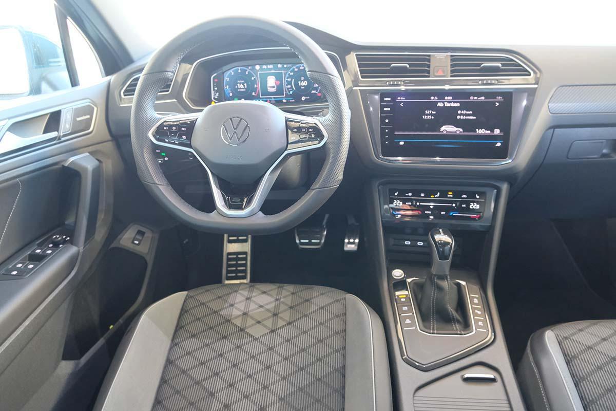 VW Tiguan R-Line 1.5 TSI DSG Interieur