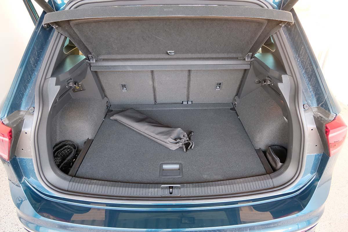 VW Tiguan R-Line 1.5 TSI Kofferraum