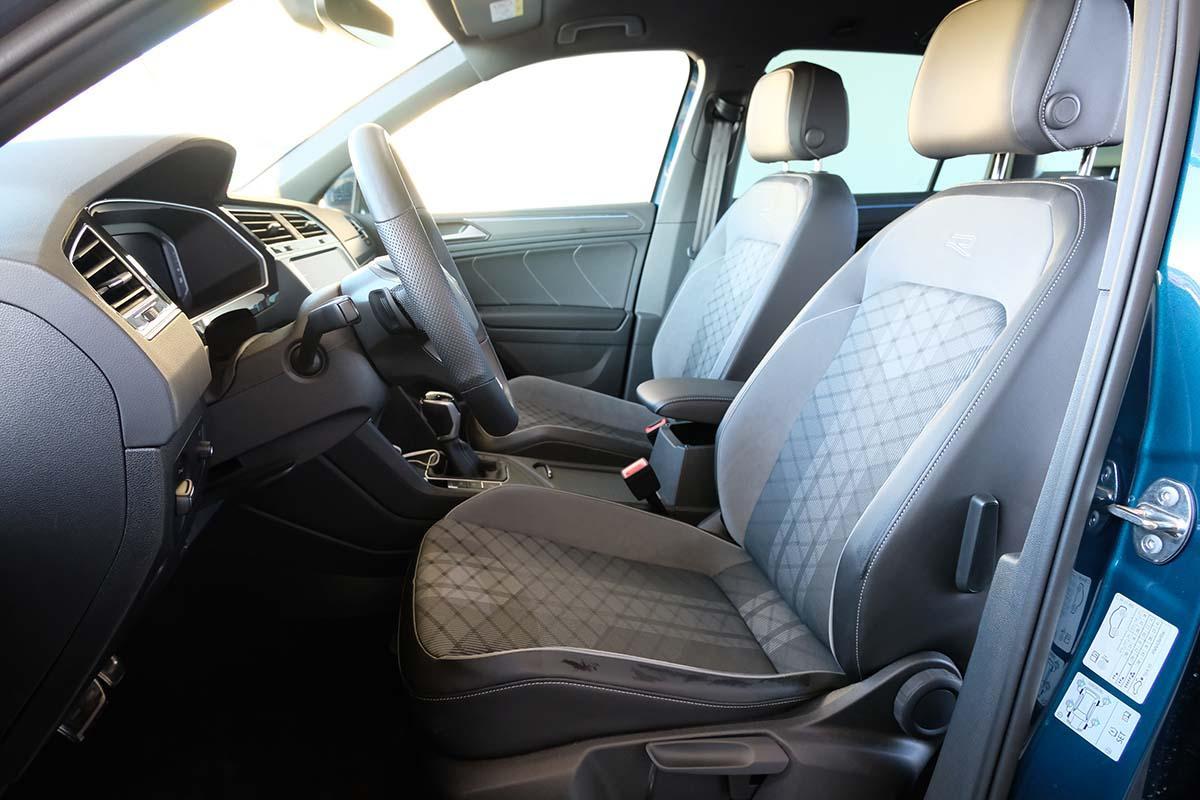VW Tiguan R-Line 1.5 TSI DSG Fahrersitz