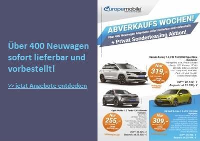 EU Neuwagen Abverkauf Leasing Aktion