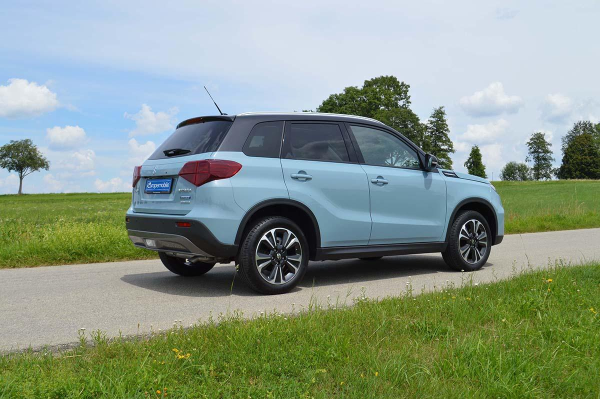 Suzuki Vitara 1,4 BOOSTERJET Mild-Hybrid Allgrip Exterieur