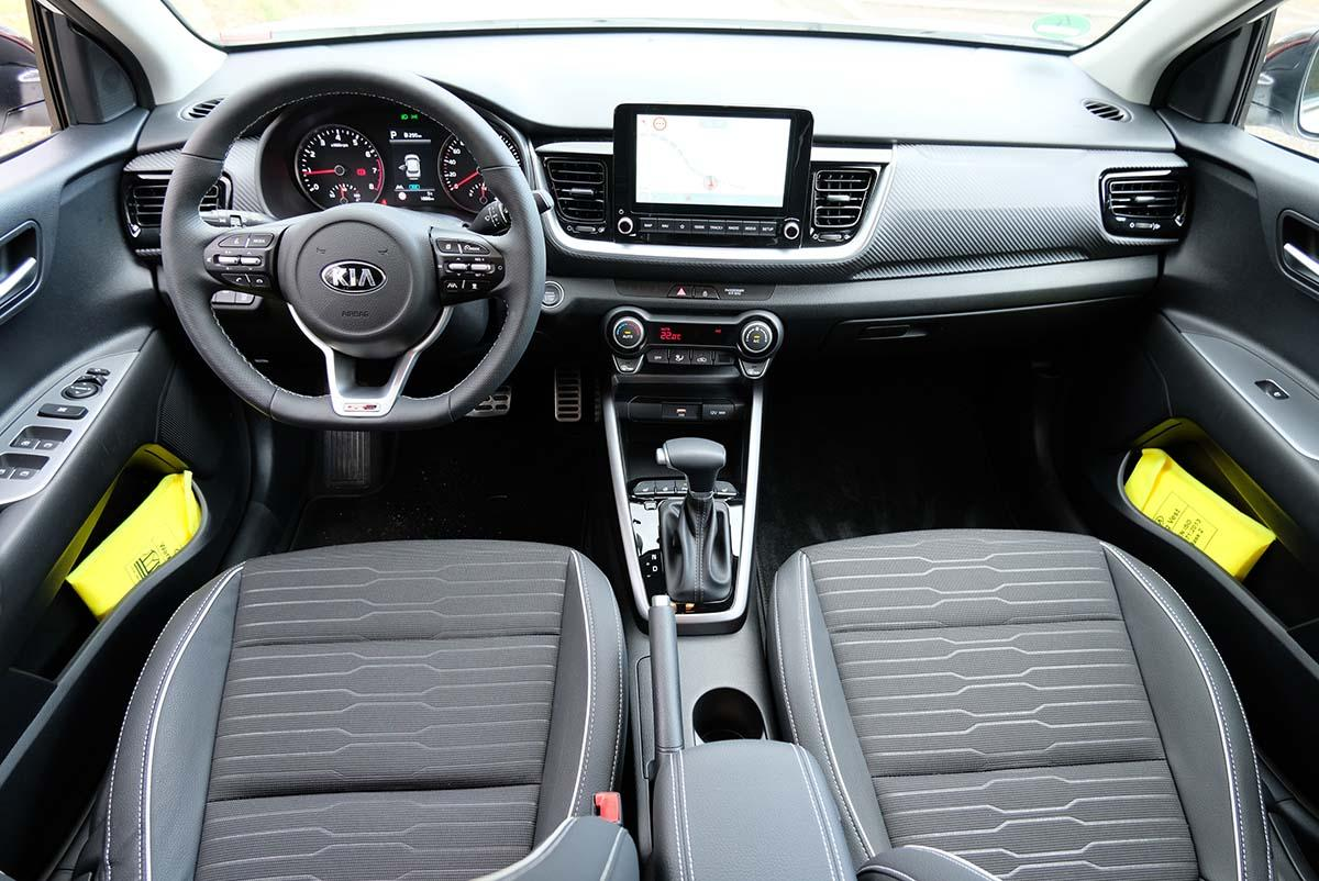 Kia Stonic 1.0 T-GDI 120 Mild-Hybrid iMT 2021 Interieur Cockpit