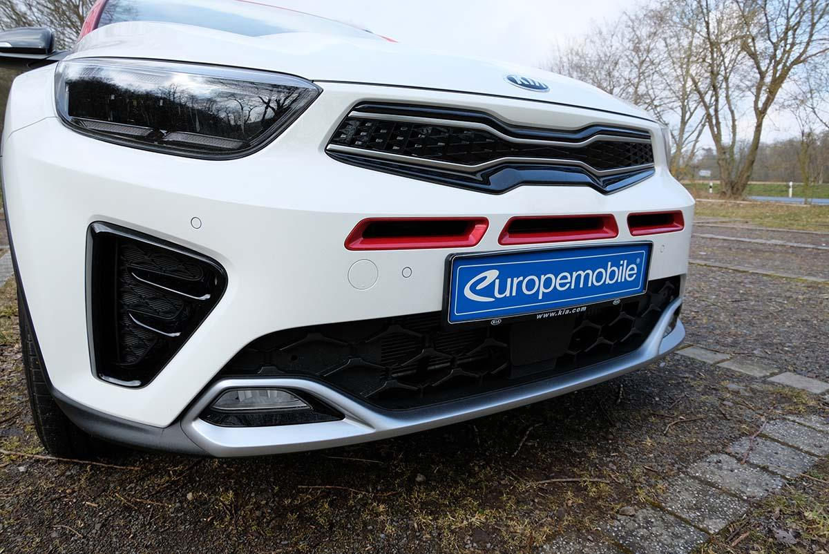 Kia Stonic 1.0 T-GDI 120 Mild-Hybrid iMT 2021 Exterieur Scheinwerfer Grill