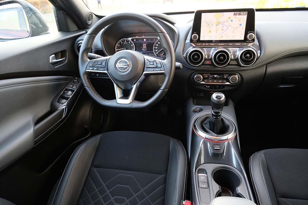Nissan Juke 2021 Interieur