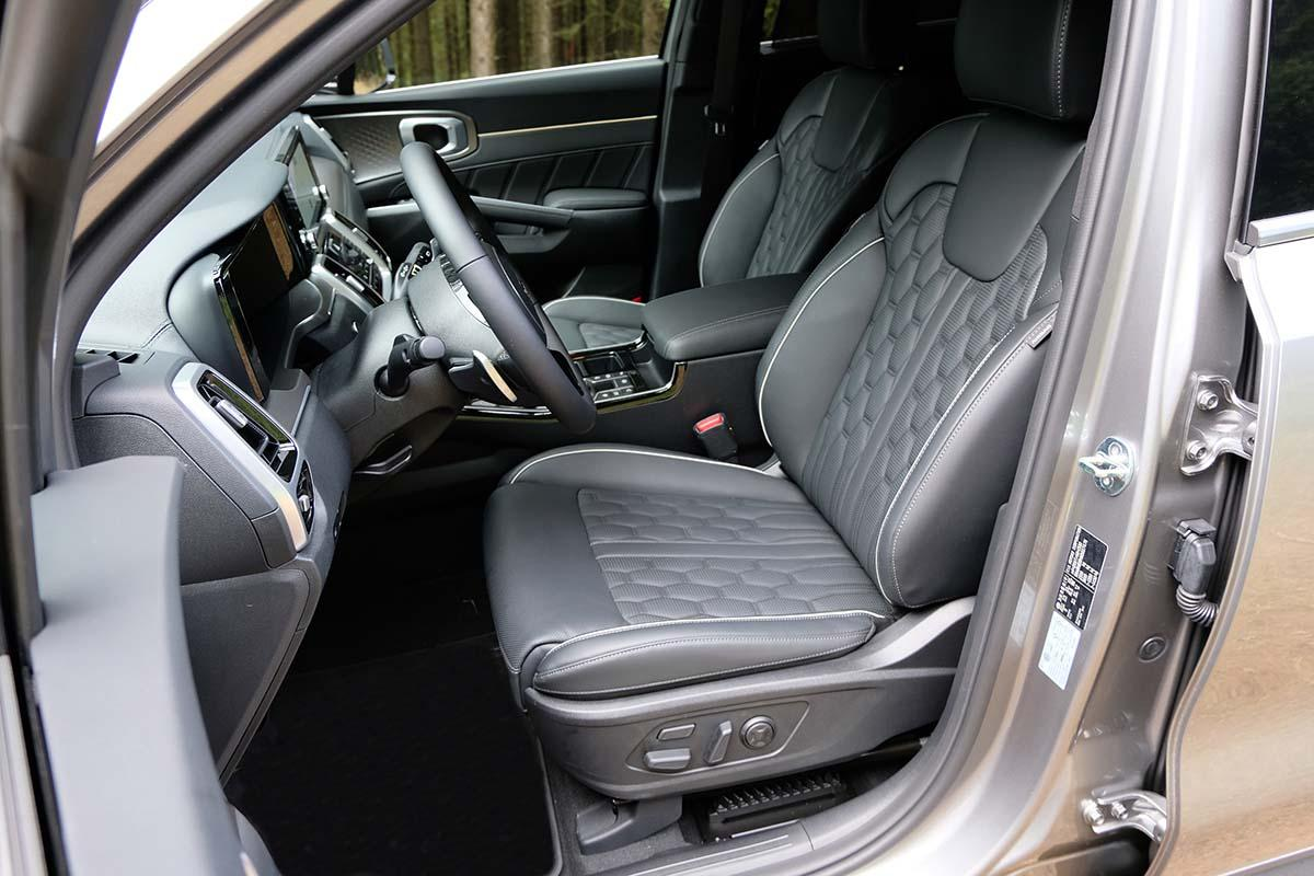 Kia Sorento Plug-in-Hybrid 2020 Interior