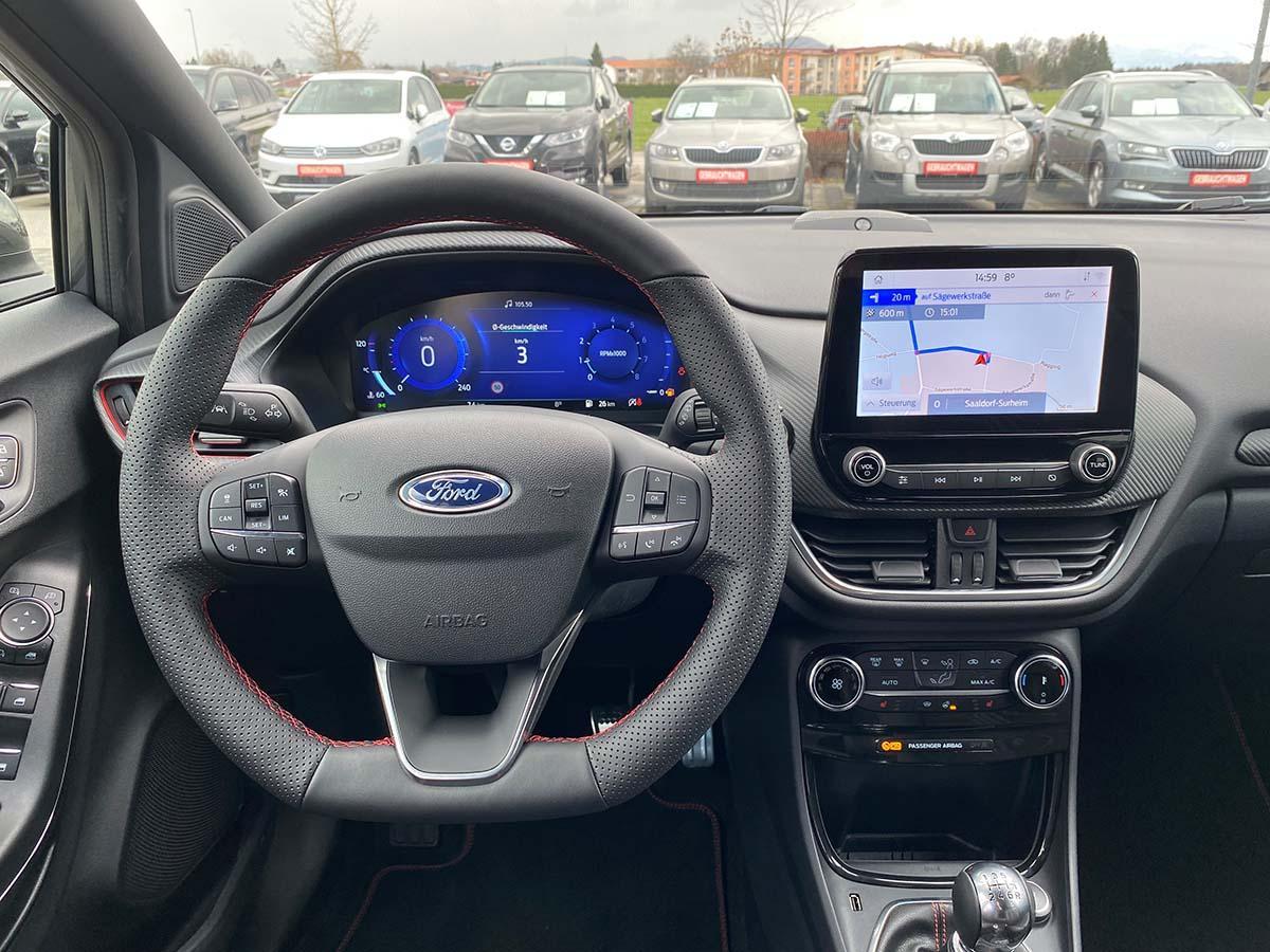 Ford Puma ST-Line X 1.0 EcoBoost 155 Hybrid Lenkrad Cockpit Multimedia