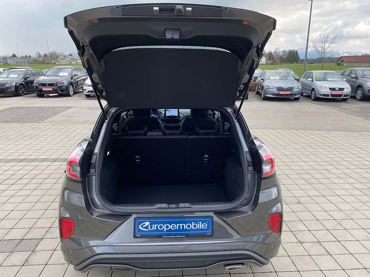 Ford Puma ST-Line X 1.0 EcoBoost 155 Hybrid Interior Kofferraum