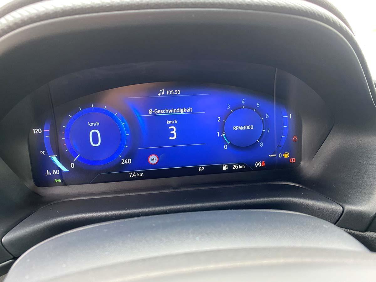 Ford Puma ST-Line X 1.0 EcoBoost 155 Hybrid Interior Cockpit