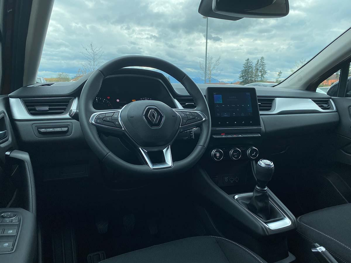 Renault Captur Experience TCe 100 Innenraum