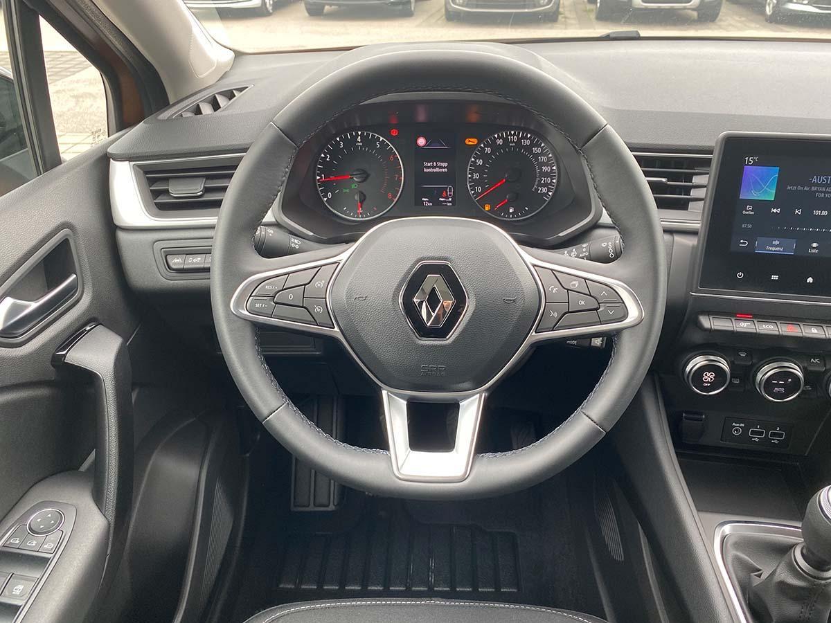 Renault Captur Experience TCe 100 Innenraum Lenkrad