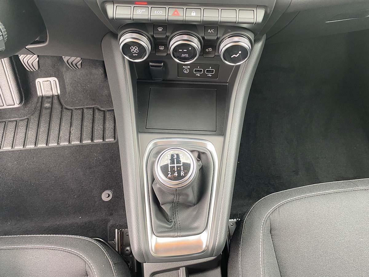 Renault Captur Experience TCe 100 Innenraum Schaltgetriebe