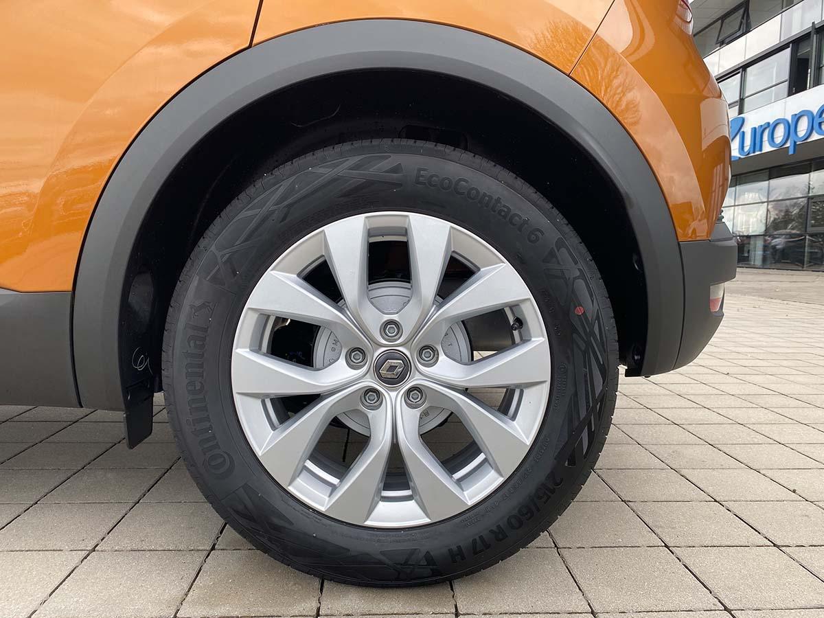 Renault Captur Experience TCe 100 Felge