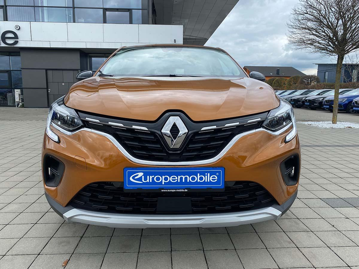 Renault Captur Experience TCe 100 Vorne