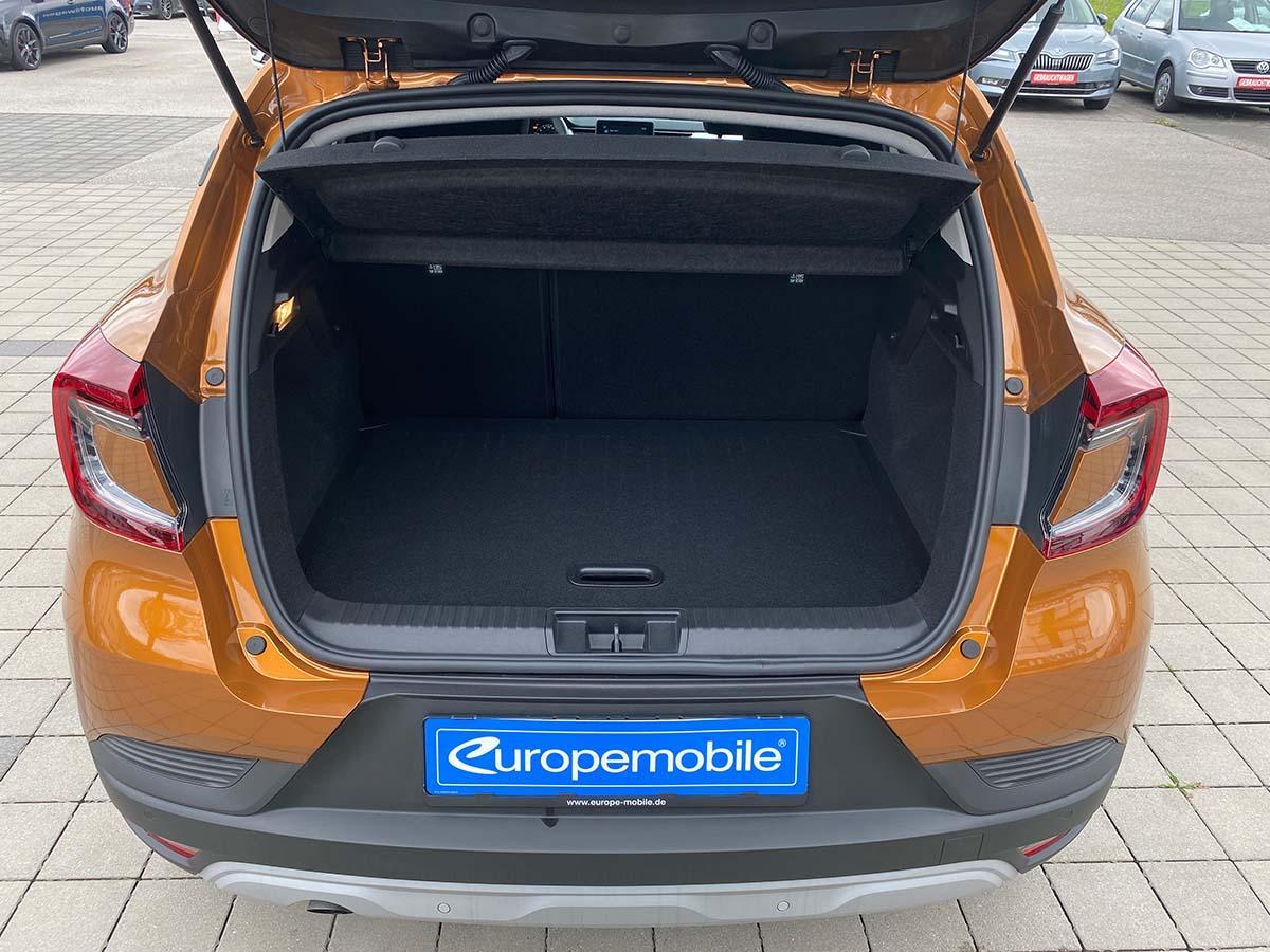 Renault Captur Experience TCe 100  Kofferraum