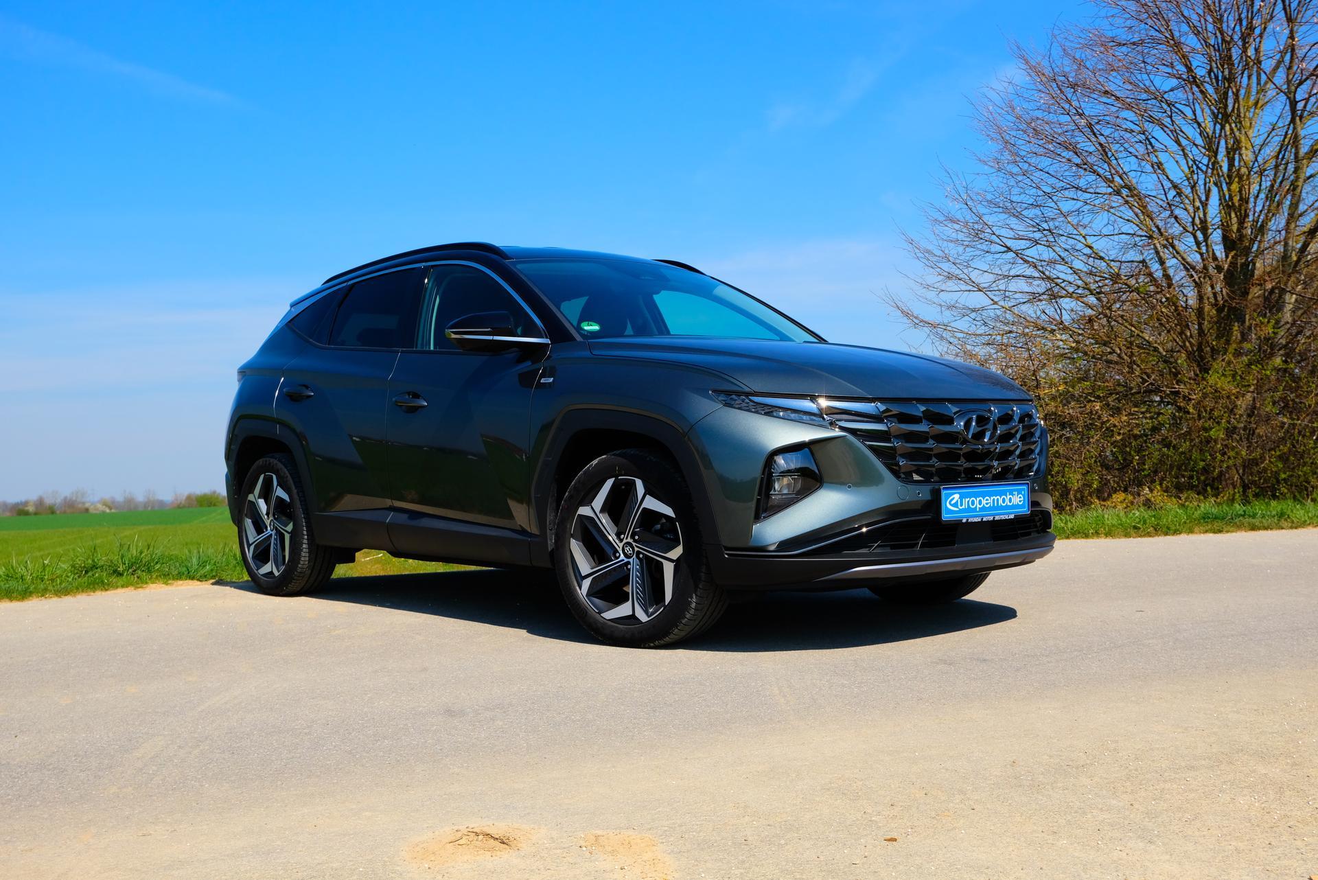 Hyundai Tucson 1.6 T-GDI HEV 4x4 vorne