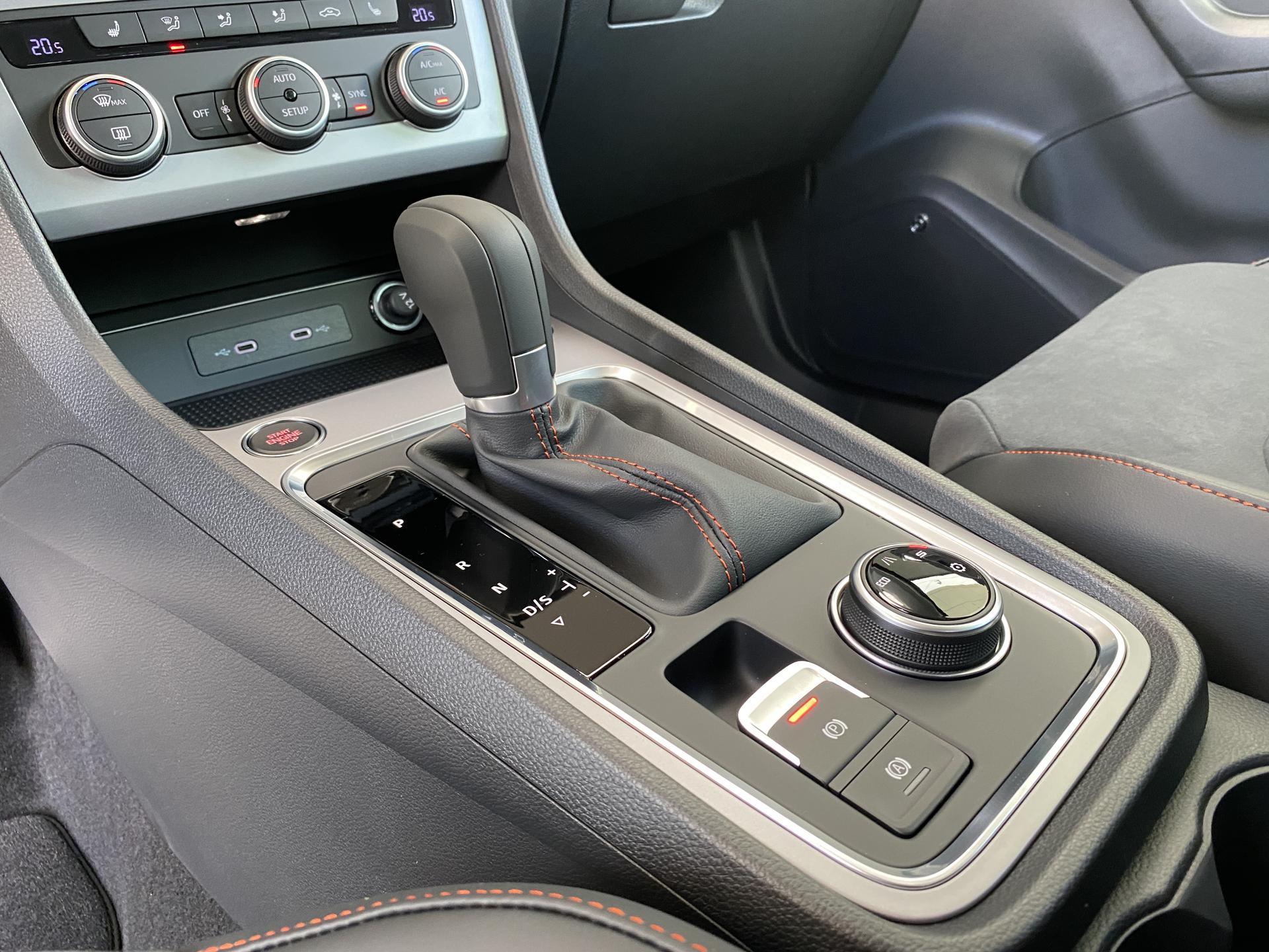 SEAT Ateca FR 1.5 TSI DSG Innenraum Automatikgetriebe