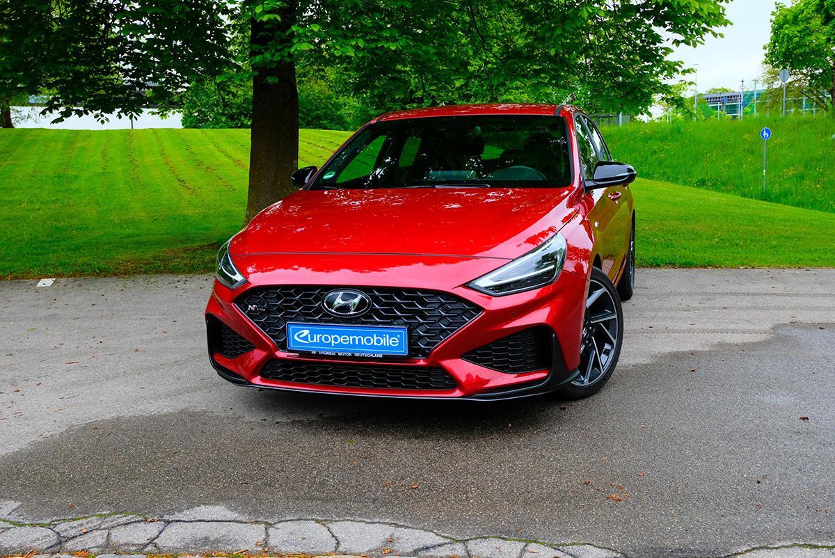 Hyundai i30 1.5 T-GDI iMT N Line vorne