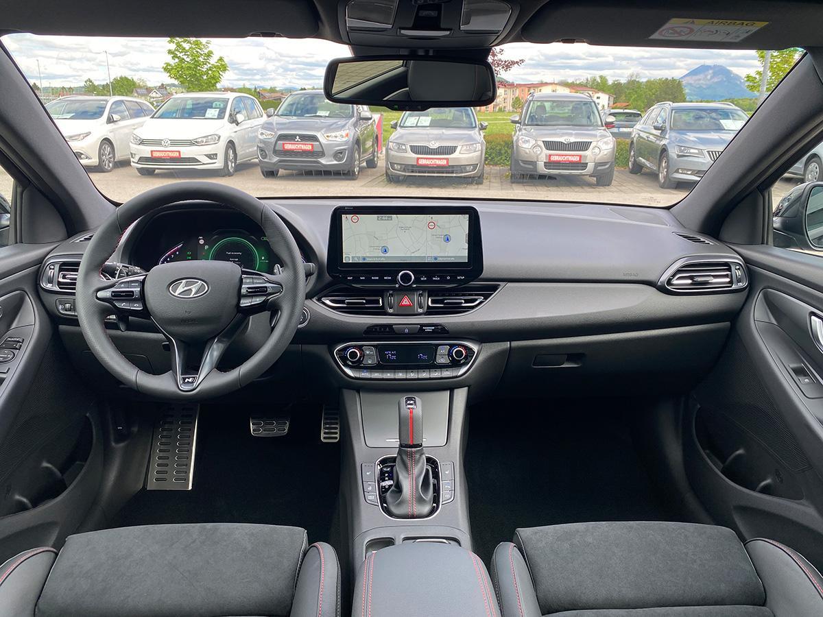 Hyundai i30 1.5 T-GDI iMT N Line innenraum