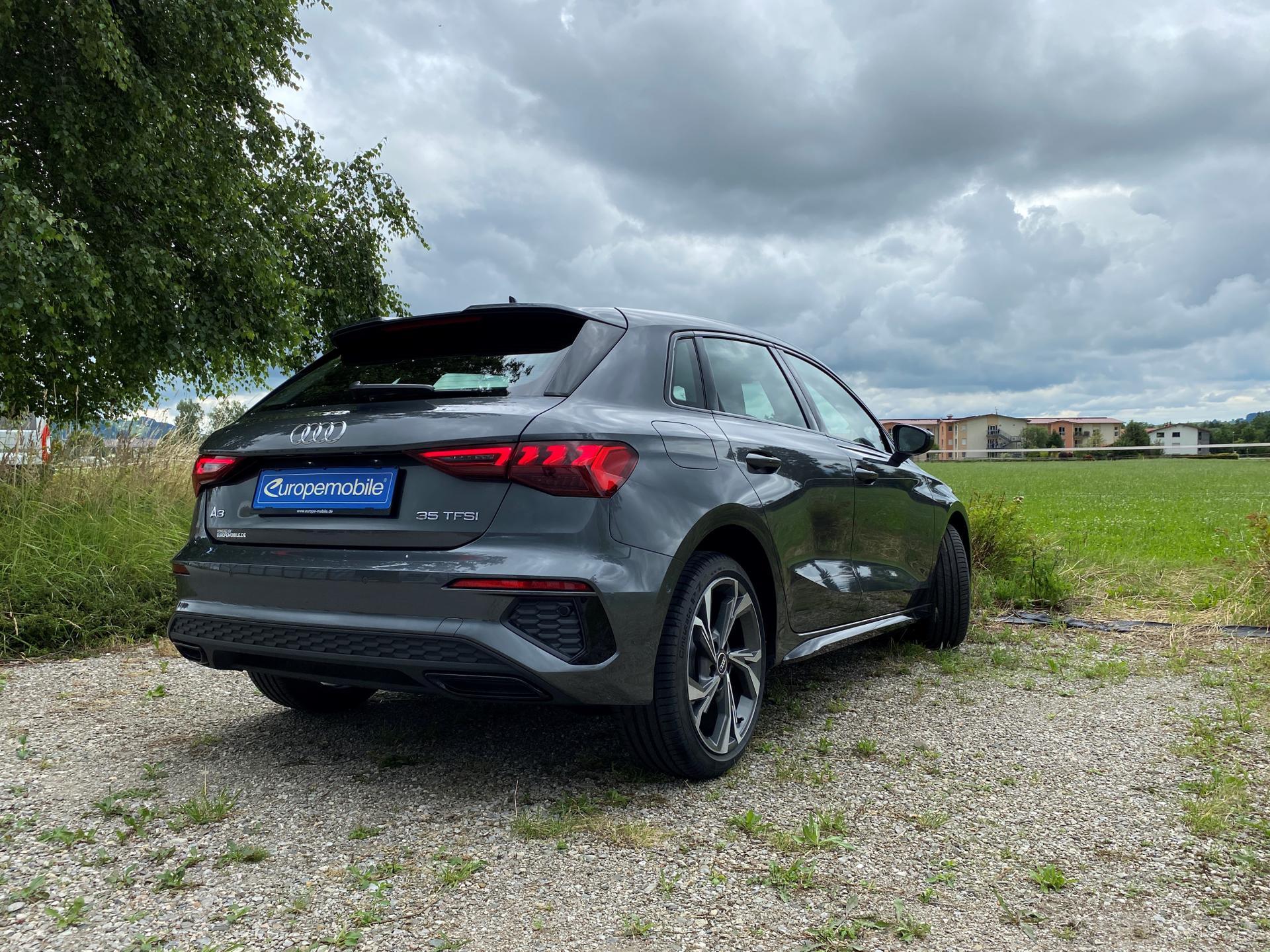 Audi A3 hinten