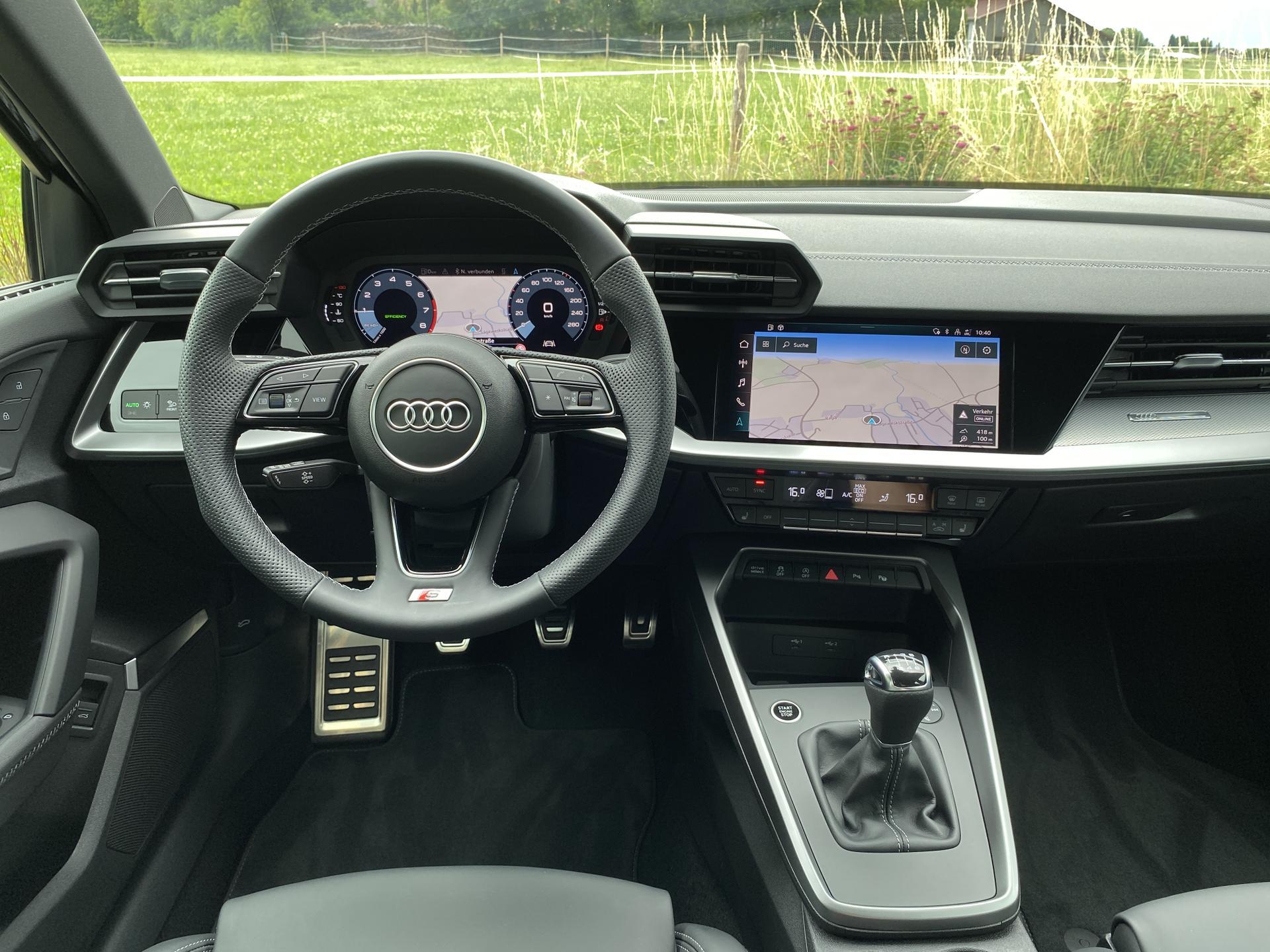 Audi A3 Lenkrad, Multimedia, Schaltgetriebe