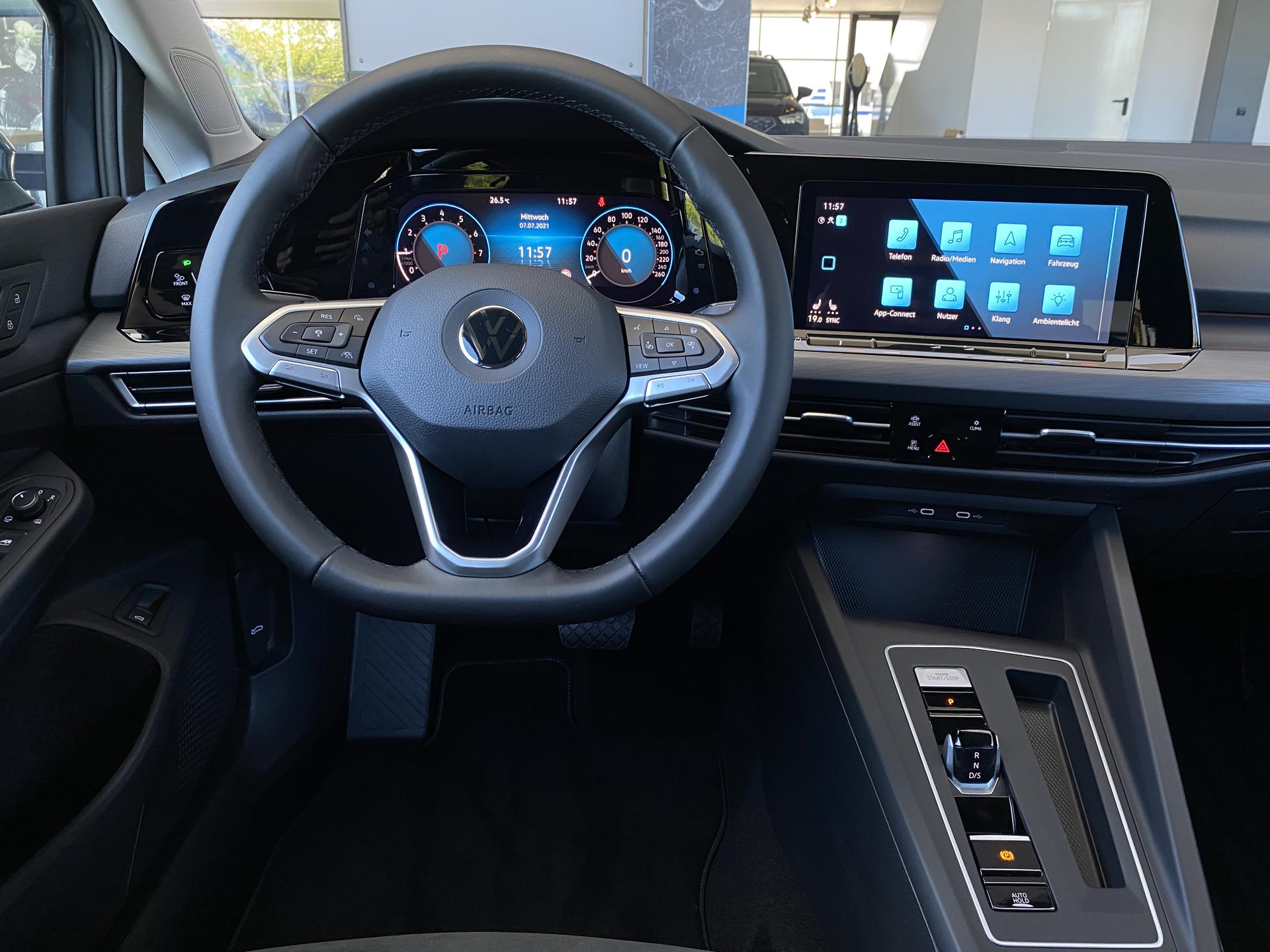 VW Golf Variant Innenraum