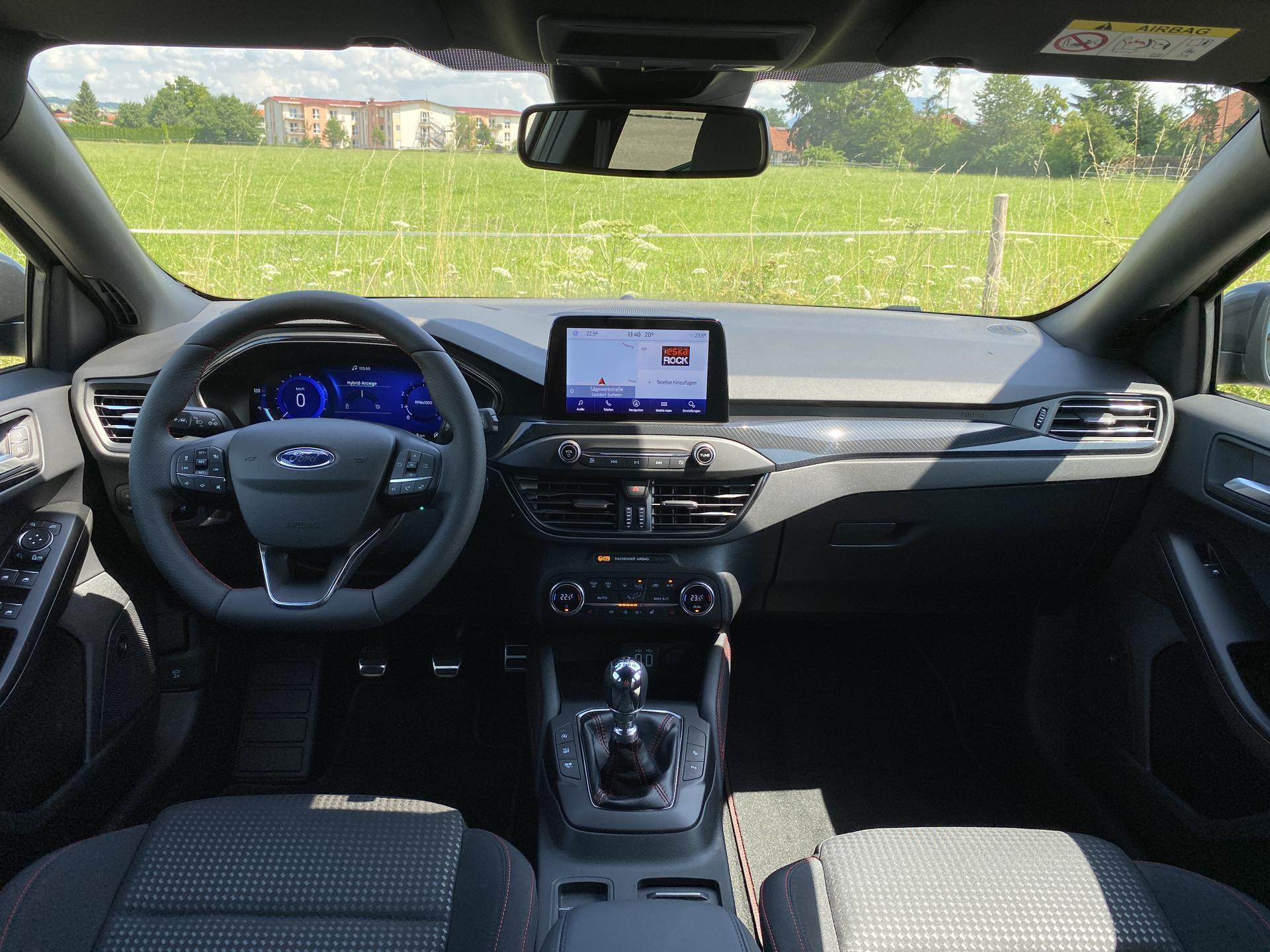 Ford Focus Turnier Innenraum Highlights