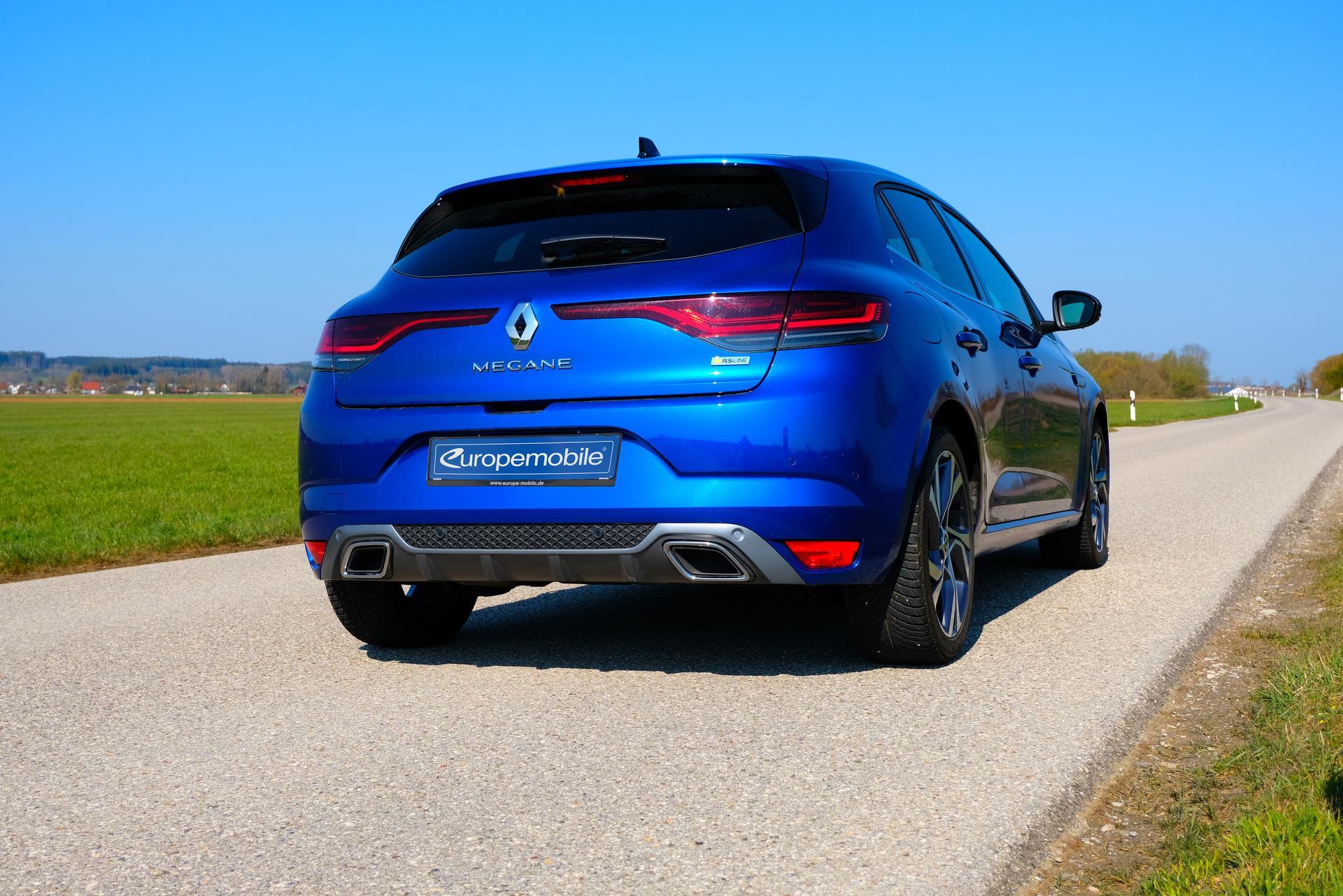 Renault Megane hinten