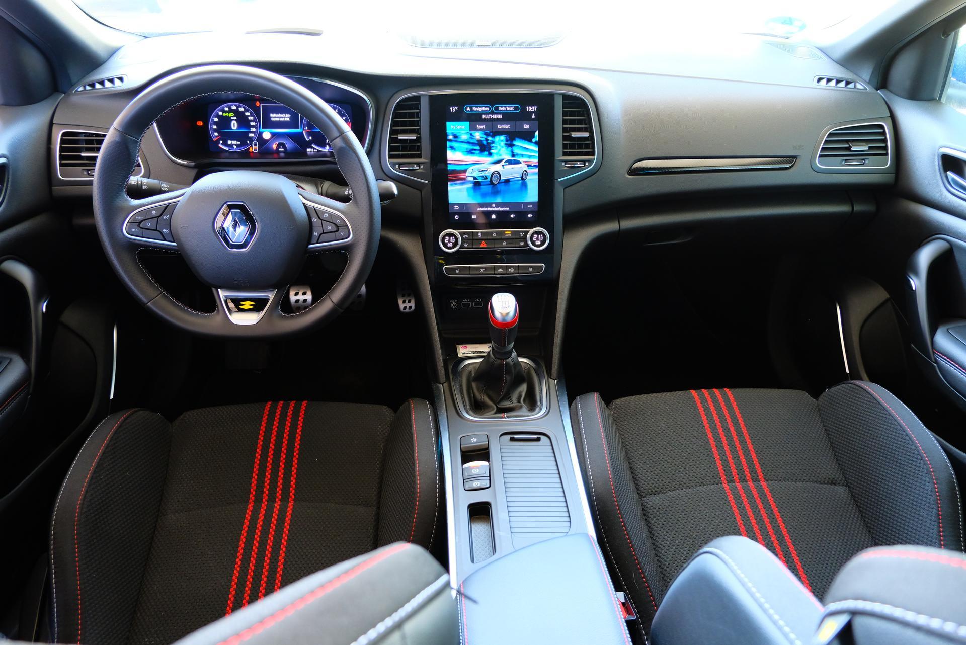 Renault Megane Innenraum