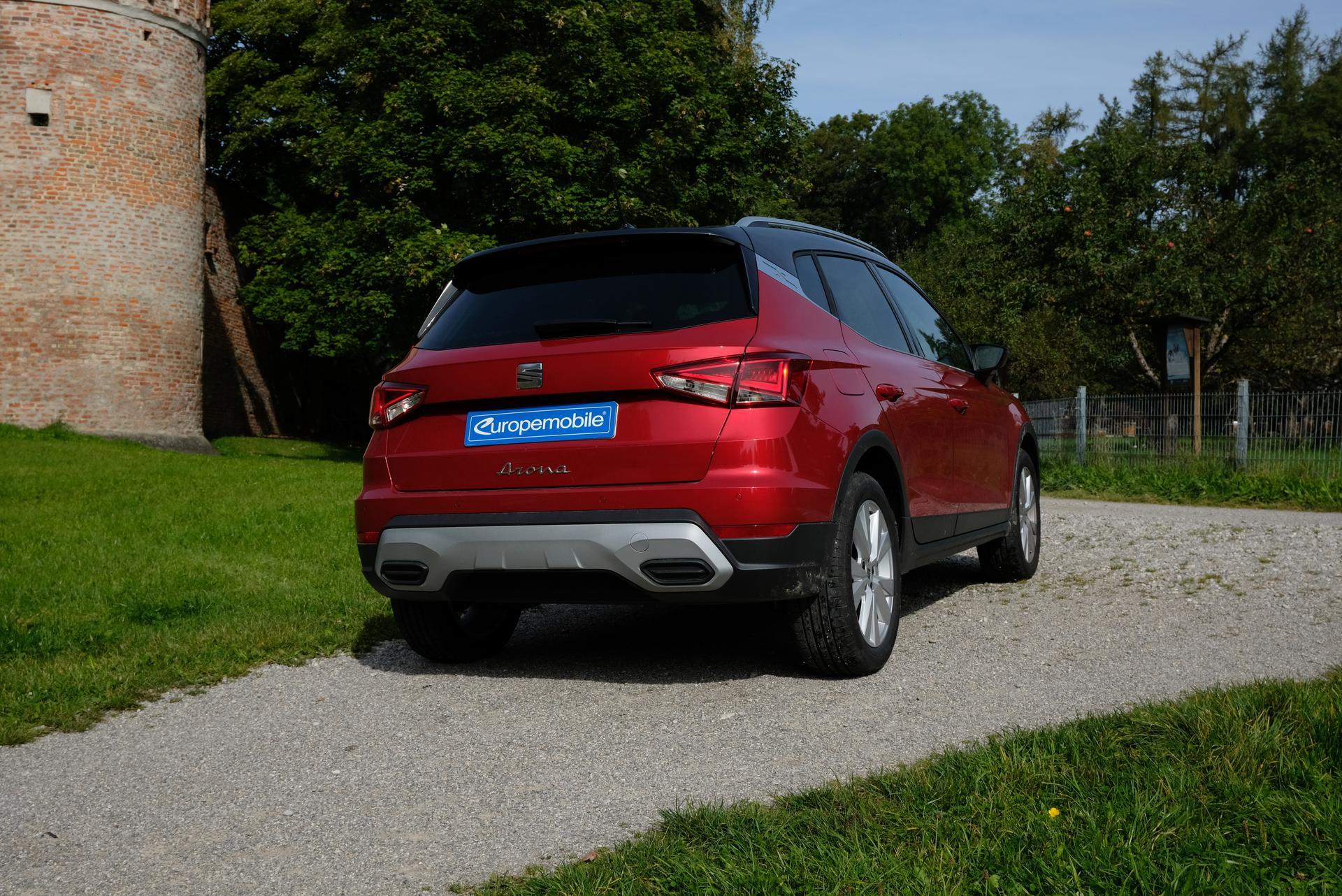 Facelift: SEAT Arona 1.0 TGI. new