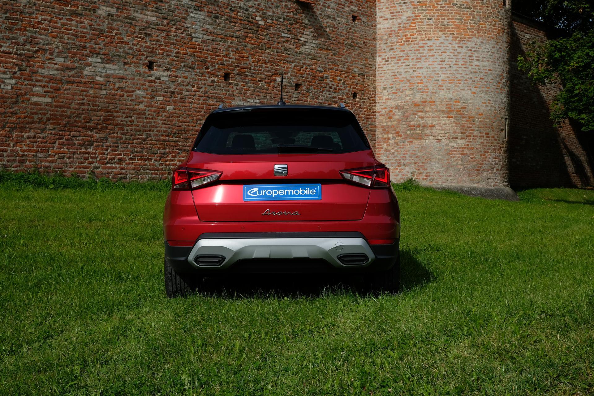 Facelift: SEAT Arona 1.0 TGI hinten