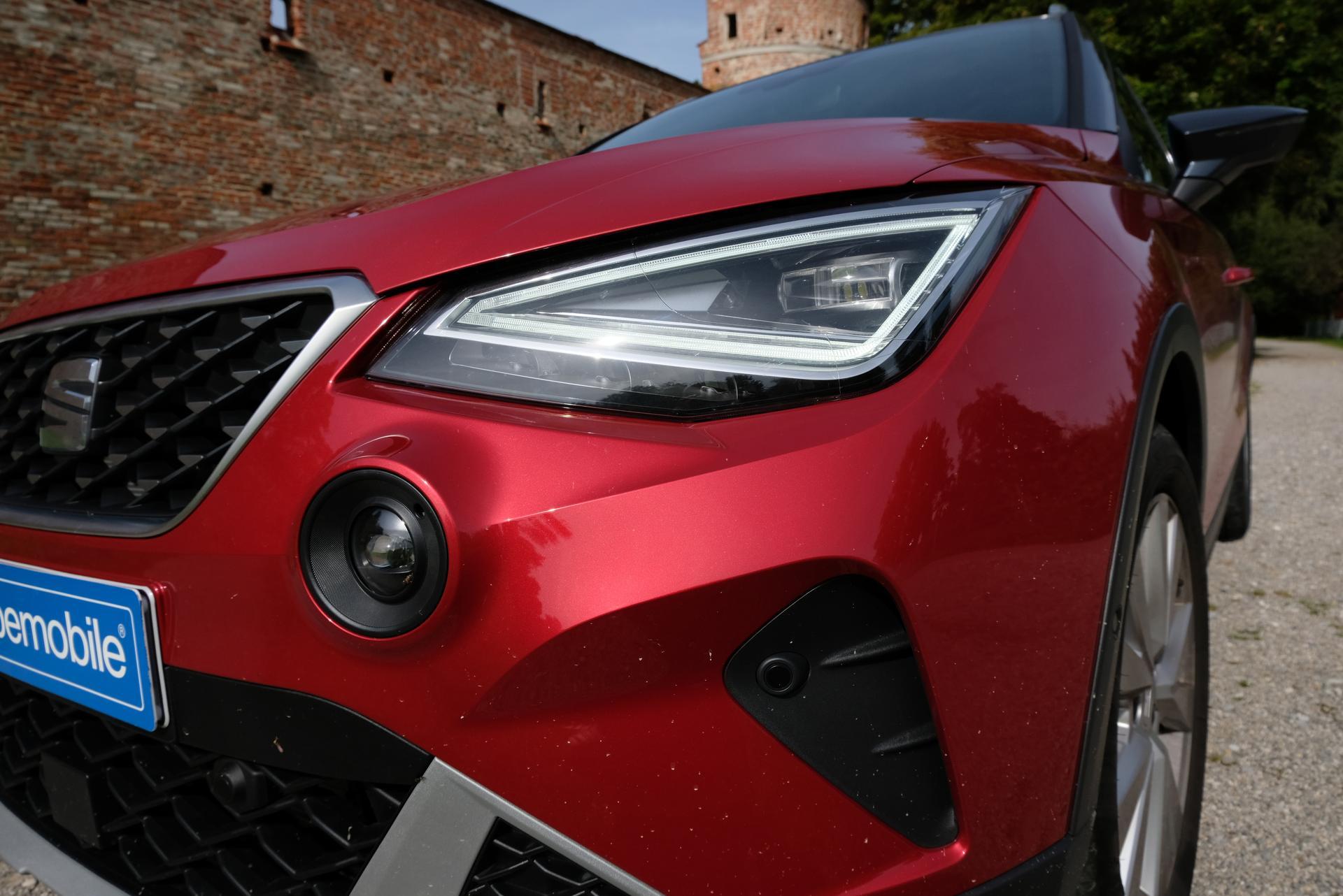 Facelift: SEAT Arona 1.0 TGI Scheinwerfer