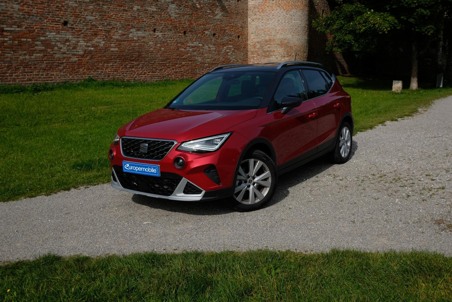 Facelift: SEAT Arona 1.0 TGI in Farbe Rot