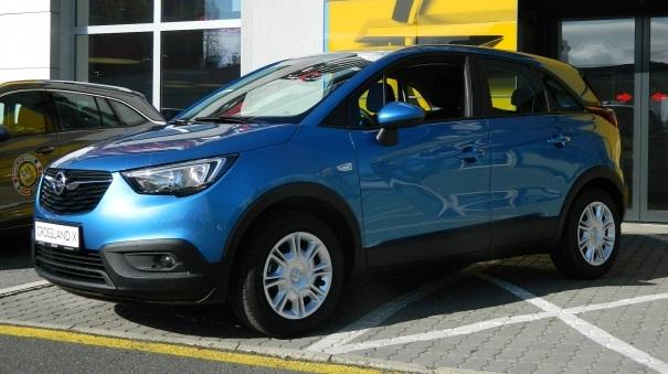 Opel Crossland X - Selection Plus 1.2 60 kW 6D Temp, Klima, Tempomat, LED, Spurhalteassistent, Bluetooth
