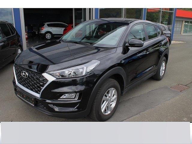 Hyundai Tucson - 1.6 Pure Modellpflege AHK var. Ladeboden Allwetterreifen Bluetooth MFL