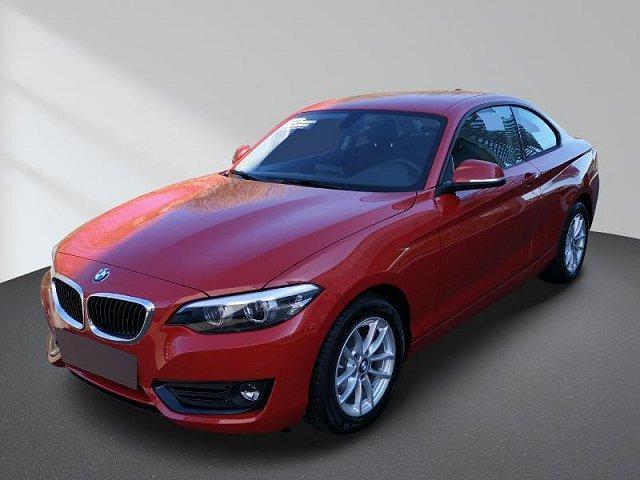 BMW 2er - 218d Coupe Aut. Service inkl. Navi AHK Sitzheizung Tempomat LED